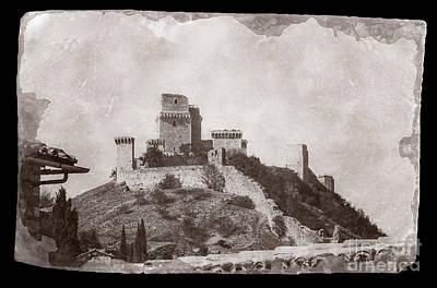 Rocca Maggiore Castle Poster