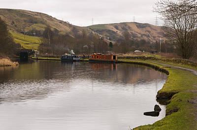 Rochdale Canal Near Walsden Poster