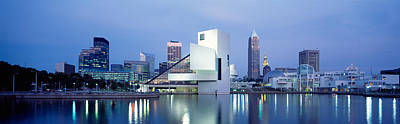 Rock And Roll Hall Of Fame, Cleveland Poster by Panoramic Images