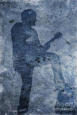 Rock Band Guitarist Poster