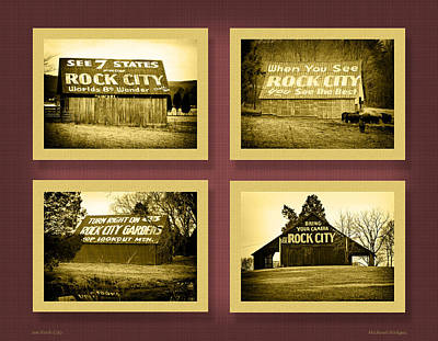 Rock City Barns Poster