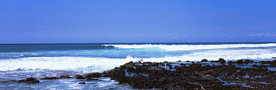 Rock Formations At North Shore, Oahu Poster by Panoramic Images