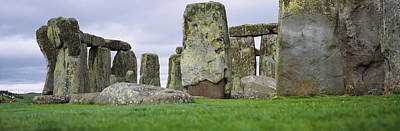 Rock Formations Of Stonehenge Poster