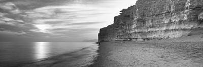 Rock Formations On The Beach, Burton Poster by Panoramic Images