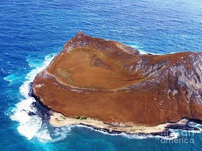 Rock Island Oahu Poster