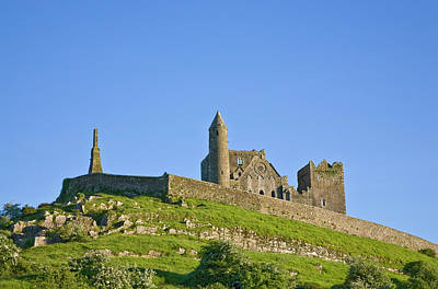 Rock Of Cashel, Site Of Monastic Poster by Panoramic Images