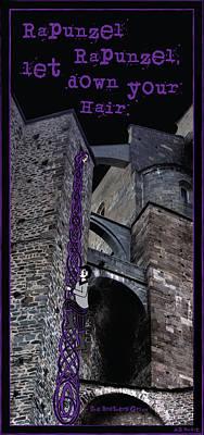 Rockin' Raven Celtic Rapunzel Poster