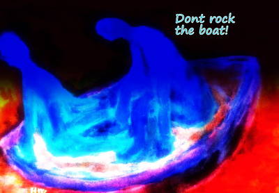 They Hate It When You Are Rocking The Boat But You Have To Do It Anyway  Poster by Hilde Widerberg