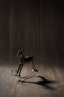 Rocking Horse Poster by Amanda Elwell