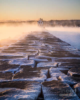 Rockland Breakwater Lighthouse Poster
