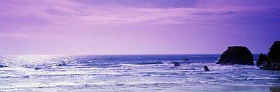 Rocks In The Ocean, Pacific Ocean Poster