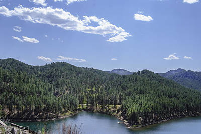 Rocky Mountain Lake Poster