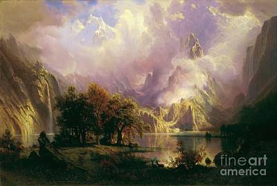 Rocky Mountain Landscape Poster by Pg Reproductions