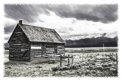 Rocky Mountain Past Poster