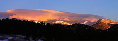 Poster featuring the photograph Rocky Mountain Sunrise by Craig T Burgwardt