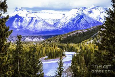 Rocky Mountains Landscape Poster