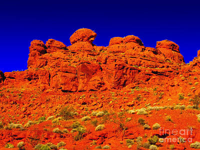 Poster featuring the photograph Rocky Outcrop by Mark Blauhoefer