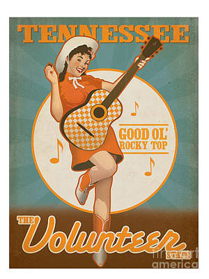 Rocky Top Tennessee Poster