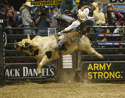Rodeo 13 Poster by Don Olea