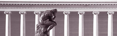 Rodin Sculpture, San Francisco Poster