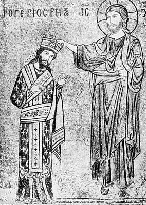 Roger II Of Sicily (1095-1154) Poster by Granger
