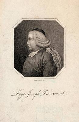 Roger Joseph Boscovich Poster by Joseph Muller Collection /new York Public Library
