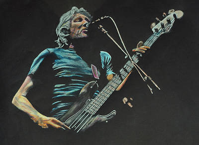 Roger Waters. Poster by Breyhs Swan