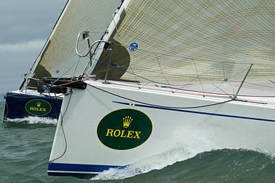 Rolex Contenders Poster by Steven Lapkin
