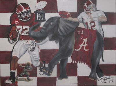 Roll Tide Poster by ChrisMoses Tolliver