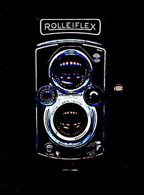 Rolleiflex 1950's Poster
