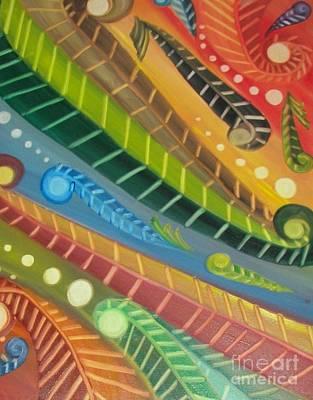 Roller Coaster Poster by Rachel Carmichael