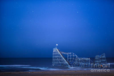 Roller Coaster Stars Poster by Michael Ver Sprill