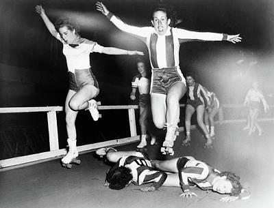 Roller Derby, 1950 Poster