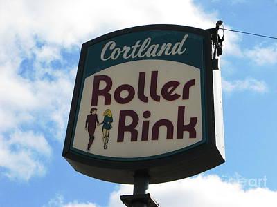 Roller Rink Poster