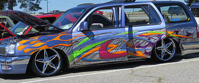 Rolling Art Lowrider Poster