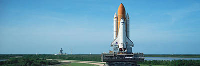 Rollout Of Space Shuttle Discovery Poster