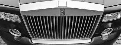 Rolls Royce Poster by Maj Seda