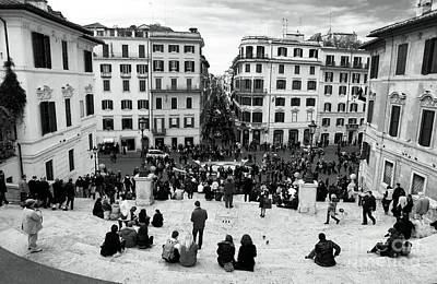 Roma Views Poster by John Rizzuto
