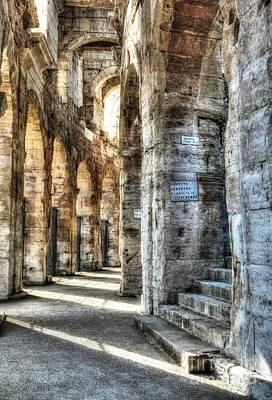 Roman Arena At Arles Poster