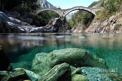 Roman Bridge Poster