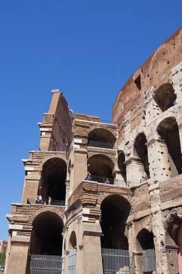 Roman Colosseum Walls. Poster by Mark Williamson