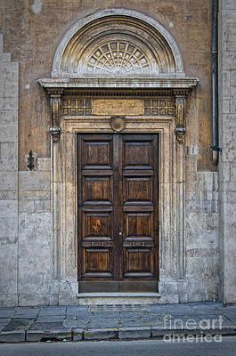 Roman Doors Poster by Antony McAulay