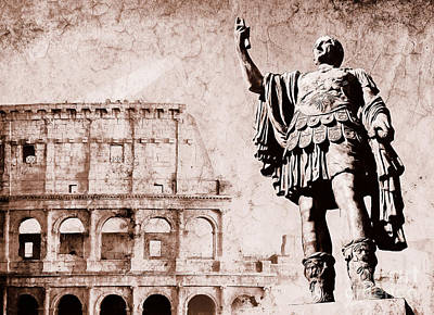 Roman Empire Poster by Stefano Senise