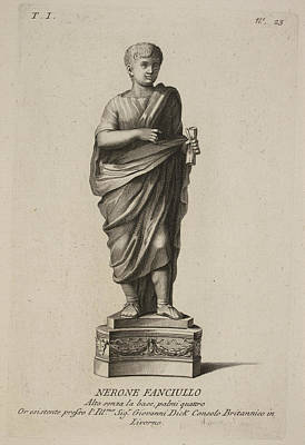 Roman Empreror Nero Poster