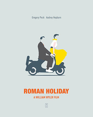 Roman Holiday Poster by Smile In The  Mind