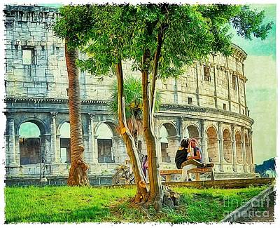 Roman Lovers Poster
