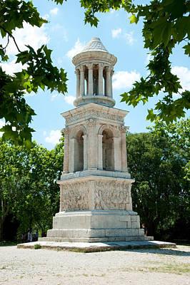 Roman Mausoleum At Glanum Poster by Panoramic Images
