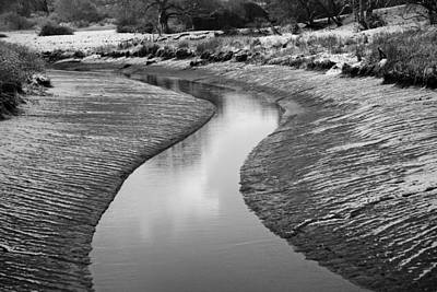 Poster featuring the digital art Roman River Bend by David Davies