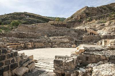 Roman Ruins Poster by Photostock-israel