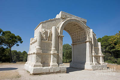 Roman Triumphal Arch, Glanum, France Poster by Adam Sylvester